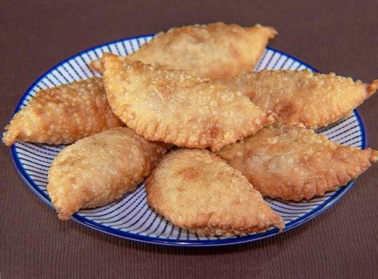 Empanadas de harina frita