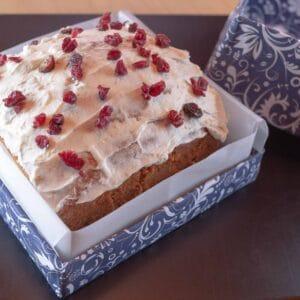 Torta de Arándanos rectangular