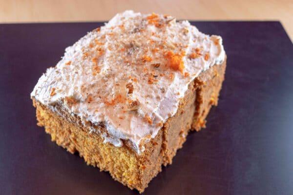 Torta de Zanahoria recetangular