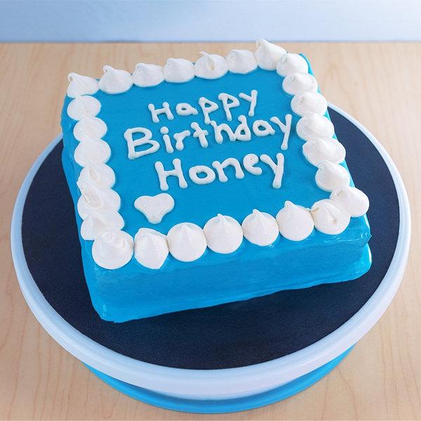 Tortas con mensaje Happy Birthday Honey