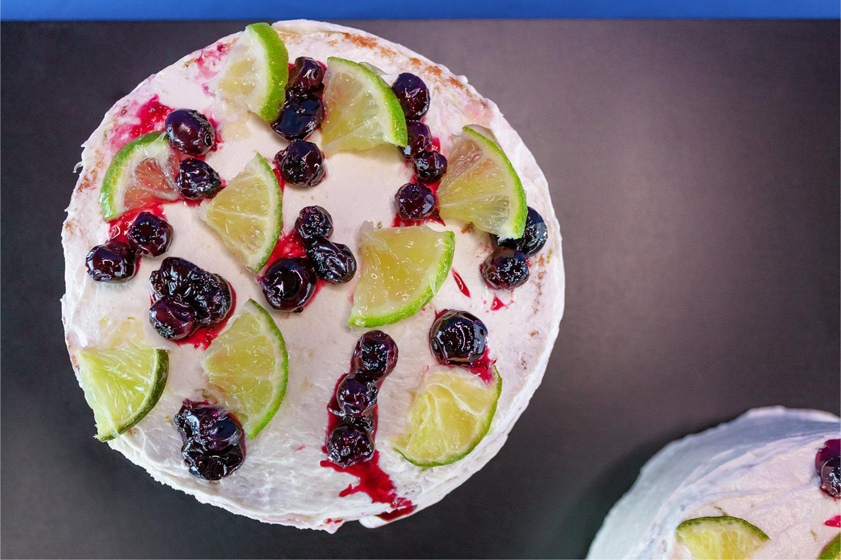 torta de arándanos