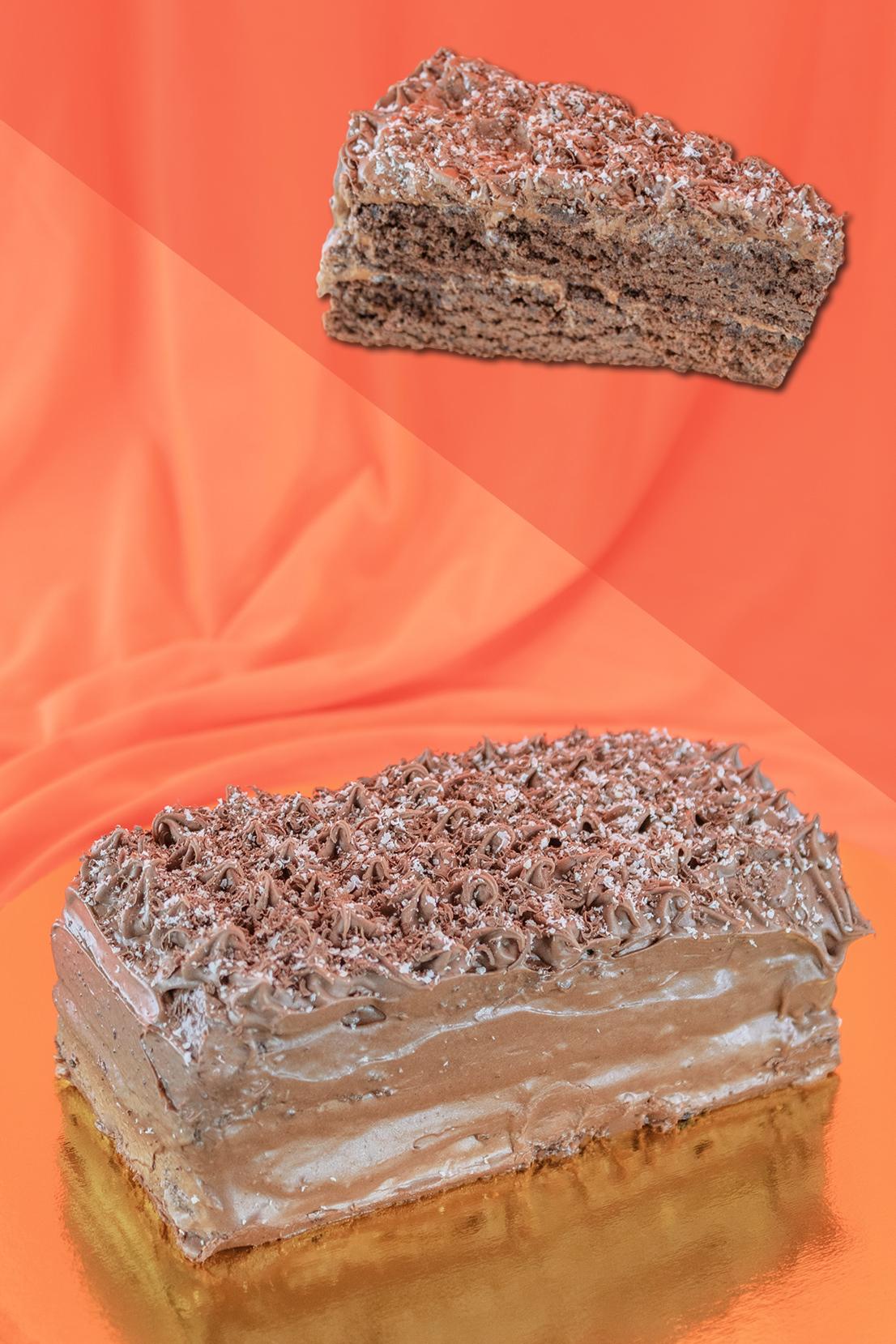 torta de chocolate mousse