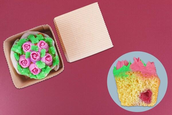 ramos de cupcakes para mama